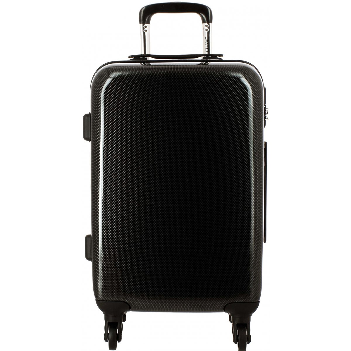 valise rigide david jones taille m 66cm ba20601m couleur principale black squares. Black Bedroom Furniture Sets. Home Design Ideas