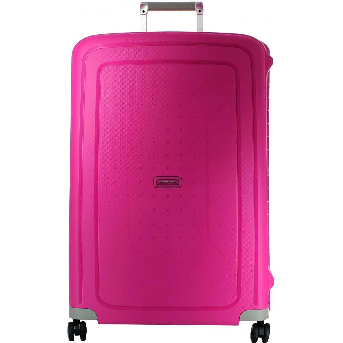 valise samsonite s cure spinner 75 cm scure08 couleur principale fushia promotion. Black Bedroom Furniture Sets. Home Design Ideas