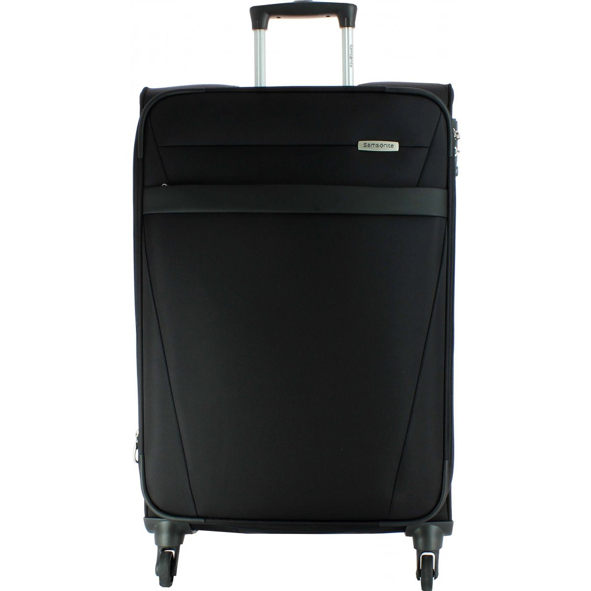 valise samsonite ncs auva spinner m 69cm ncsauva21 couleur principale noir promotion. Black Bedroom Furniture Sets. Home Design Ideas