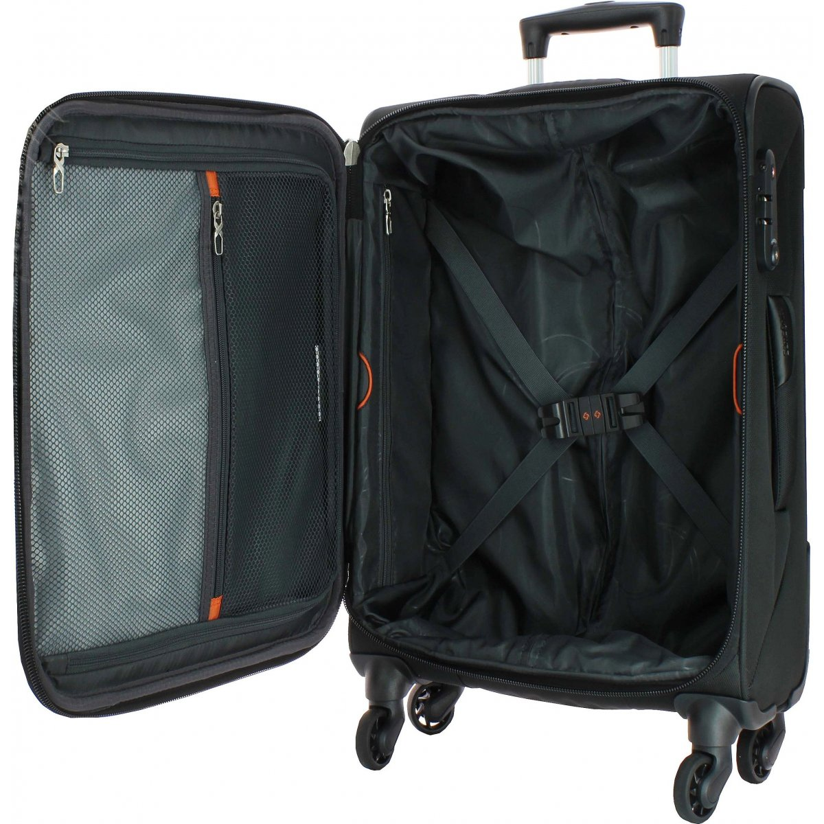 valise samsonite x 39 blade 63cm xblade91 couleur principale noir solde. Black Bedroom Furniture Sets. Home Design Ideas
