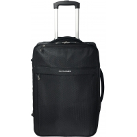 Trolley Cabine souple David Jones 52 cm - Noir