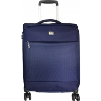 Valise Cabine souple TSA David Jones 53 cm - Marine
