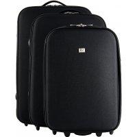 Lot de 3 valises souple dont une cabine Ryanair David Jones