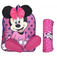 Mini sac à dos enfant & trousse offerte DISNEY Minnie