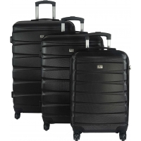 Lot 3 Valises Rigides dont 1 Valise Cabine David Jones ABS