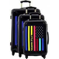 Lot 3 valises dont 1 valise cabine Little Marcel