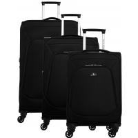 Lot de 3 valises dont une valise cabine David Jones