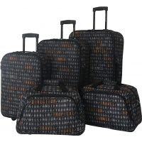 Lot de 5 bagages Souples David Jones