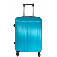Valise Cabine rigide David Jones 54.50 cm - Turquoise