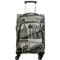 Valise Cabine Souple David Jones Polyester 56 cm