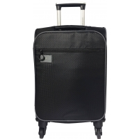 Valise Cabine souple David Jones 55 cm - Noir