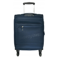 Valise Cabine Souple David Jones TSA Polyester Nylon 55 cm