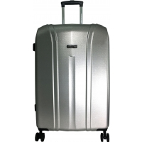Valise rigide David Jones - TSA - Grande Taille - 77 cm L-GREY