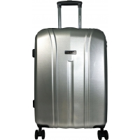 Valise rigide David Jones - TSA - Taille Moyenne - 67 cm L-GREY