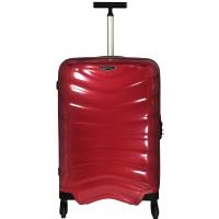 Valise Samsonite FIRELITE spinner 69 cm - Taille M - Rouge