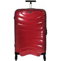 Valise Samsonite FIRELITE spinner 81 cm - Taille XL - Rouge