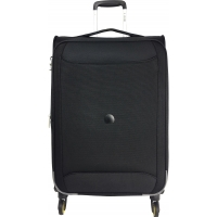 Valise souple TSA Delsey CHARTREUSE Extensible 78 cm Noir