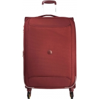 Valise souple TSA Delsey CHARTREUSE Extensible 78 cm Rouge