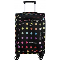 Valise Cabine souple David Jones 56 cm