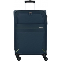 Valise SUMMER VOYAGER American Tourister 68/25 cm-Taille M- Bleu