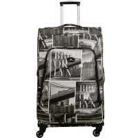 Valise Souple extensible David Jones 77 cm Taille G