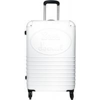 Valise rigide Little Marcel  - Taille Moyenne - Blanc