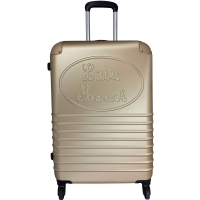 Valise rigide Little Marcel  - Taille Moyenne - Champagne