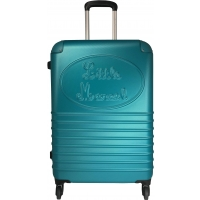 Valise rigide Little Marcel - Taille Moyenne - Turquoise