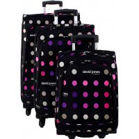 Lot 3 valises dont 1 Cabine RYANAIR David Jones