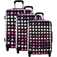 Lot 3 valises dont 1 valise cabine David Jones