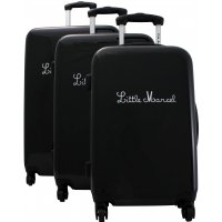 Lot de 3 valises dont 1 cabine Little Marcel