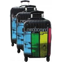 Lot 3 valises Longboard
