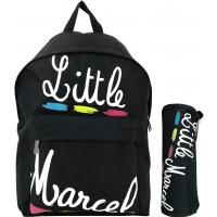 Sac à Dos Simple Compartiment & trousse offerte Little Marcel