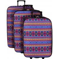 Lot 3 valises dont 1 Cabine RYANAIR David Jones