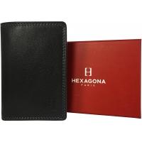 Porte-cartes Cuir de vachette RIF Hexagona