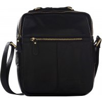 Sac bandoulière homme en cuir David Jones