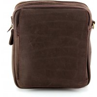 Sac bandoulière homme cuir David Jones