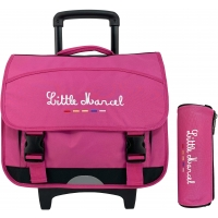 Cartable Scolaire à Roulette Little Marcel