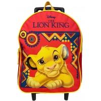 Cartable à roulettes enfant LE ROI LION