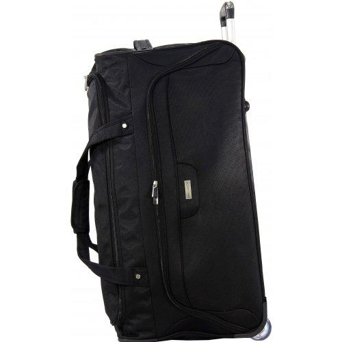 sac de voyage roulettes david jones ba6012 couleur principale noir promotion. Black Bedroom Furniture Sets. Home Design Ideas