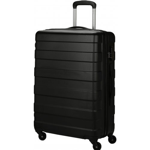 valise rigide david jones 66cm ba10161m couleur principale black valise pas cher. Black Bedroom Furniture Sets. Home Design Ideas