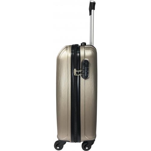 valise cabine rigide david jones cm champagne ba10291p couleur principale. Black Bedroom Furniture Sets. Home Design Ideas