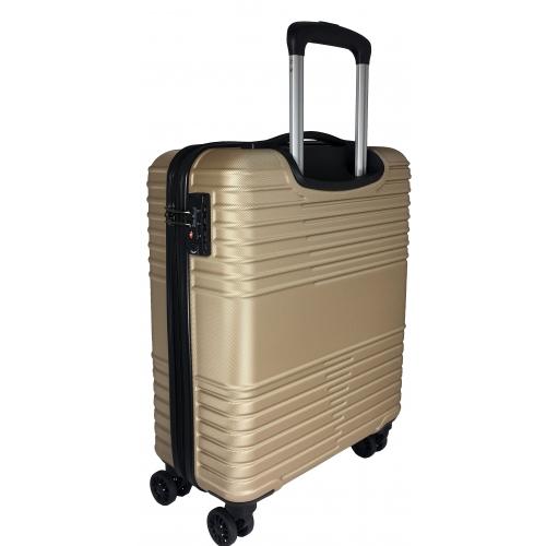 valise cabine tsa little marcel 55 cm champagne ba10201p couleur principale champagne. Black Bedroom Furniture Sets. Home Design Ideas
