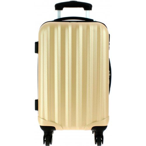 valise cabine david jones ba10111p couleur principale champagne promotion. Black Bedroom Furniture Sets. Home Design Ideas
