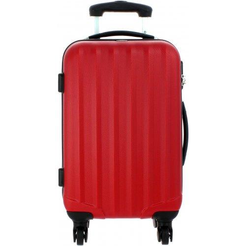 valise cabine david jones ba10111p couleur principale rouge promotion. Black Bedroom Furniture Sets. Home Design Ideas