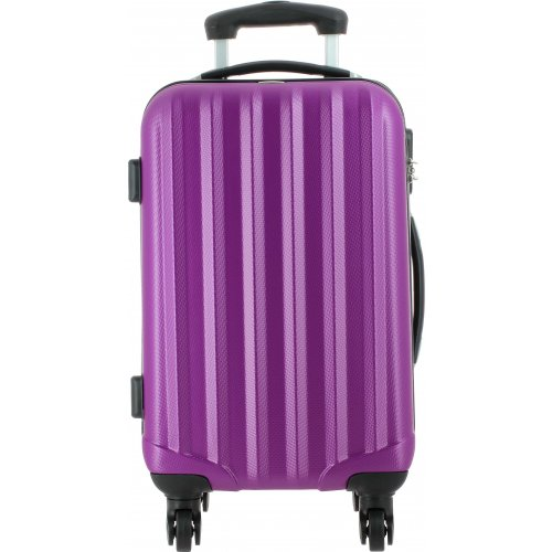 valise cabine david jones ba10111p couleur principale violet solde. Black Bedroom Furniture Sets. Home Design Ideas