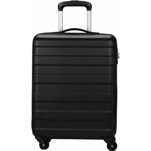 valise cabine rigide david jones 55cm ba10161p couleur principale black promotion. Black Bedroom Furniture Sets. Home Design Ideas