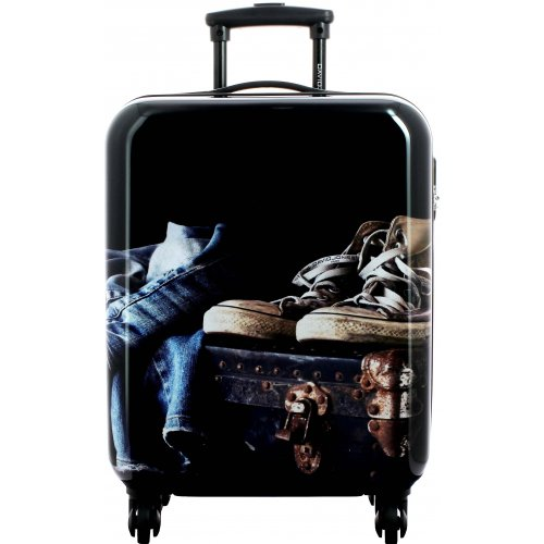 valise cabine ryanair david jones ba20521p couleur principale jean promotion. Black Bedroom Furniture Sets. Home Design Ideas