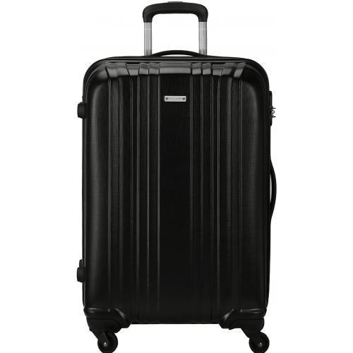 valise rigide david jones grande taille 76cm ba10171g noir couleur principale black. Black Bedroom Furniture Sets. Home Design Ideas