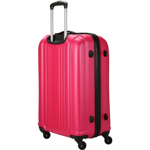 valise rigide david jones taille m 66cm ba10171m couleur principale fushia valise pas. Black Bedroom Furniture Sets. Home Design Ideas